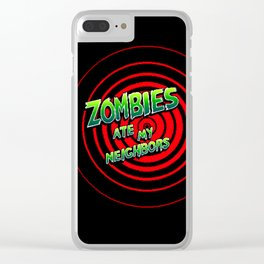 Zombies Ate My Neighbors Clear iPhone Case