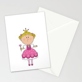 Pink Love Girl - Valentines Day Stationery Cards