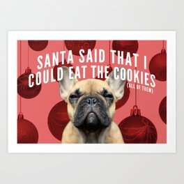 All the Cookies Art Print