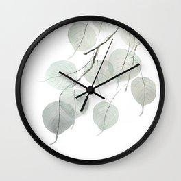 Small Leaved Lime Trees Tilia cordata leaf Wall Clock