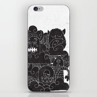 monsters iPhone & iPod Skins featuring MONSTERS by Matthew Taylor Wilson
