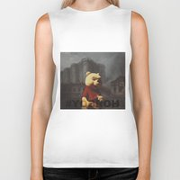 bastille Biker Tanks featuring Winnie & Bastille by consequence