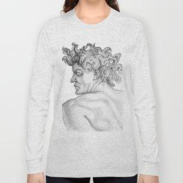 Ignudi. after Michael Angelo Long Sleeve T-shirt