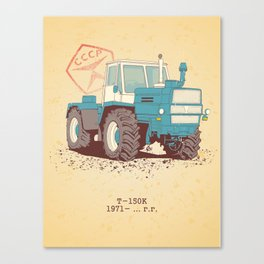 T 150K Canvas Print