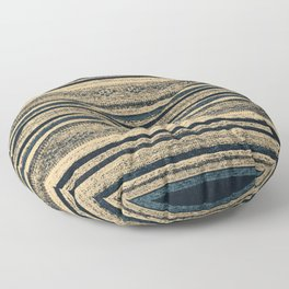 Ancient Indigo Floor Pillow