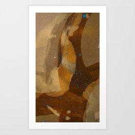 joelarmstrong_rust&gold_69 Art Print