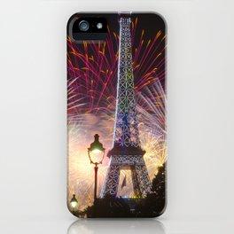 Joyeux Quatorze Juillet ! iPhone Case