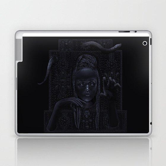 DARK TEMPLE - Du noir naît la lumière Laptop & iPad Skin