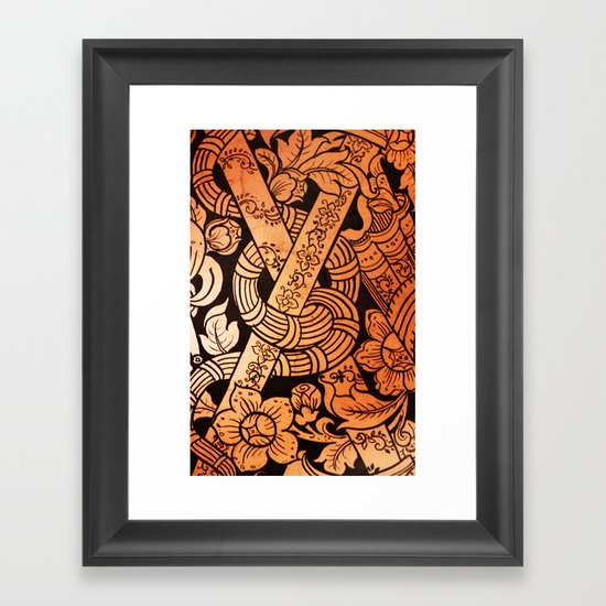 THAILAND PATTERN 3 - For IPhone - Framed Art Print