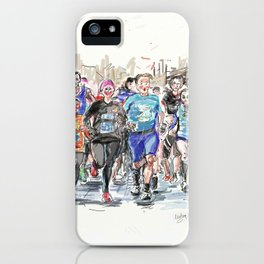 Runners Jogging iPhone Case