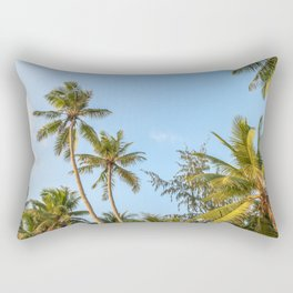 Boracay Palms Rectangular Pillow
