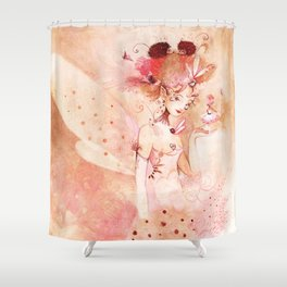 Fée Hérissonne Shower Curtain