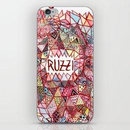 Ruzzi # 001 iPhone Skin