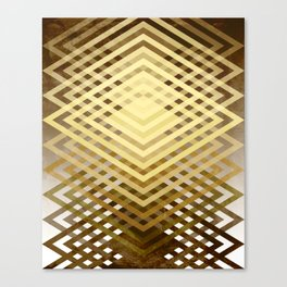 CUBIC DELAY Canvas Print