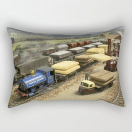 Taking the Biscuit Rectangular Pillow