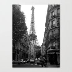 Around the Corner - Paris Canvas Print