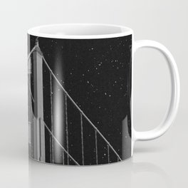Full Moon Over Golden Gate Bridge San Francisco, California Coffee Mug