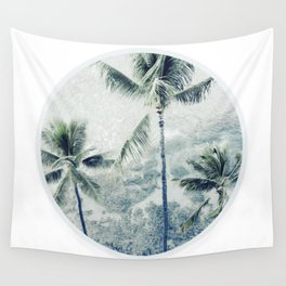 Reef palms Wall Tapestry