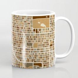 Denver Colorado Street Map Coffee Mug