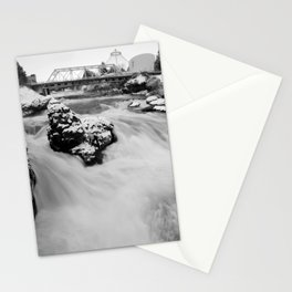 Down, Out of that Cold Sky Stationery Cards