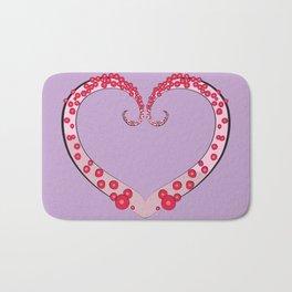 Tentacle Valentine Bath Mat