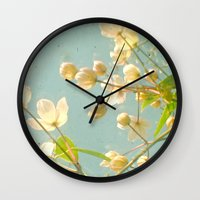 tangled Wall Clocks featuring Tangled by Cassia Beck