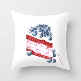 Like Velvet  Throw Pillow