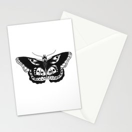 Butterfly tattoo Stationery Cards