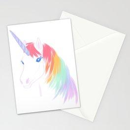 Rainbow Unicorn Stationery Cards