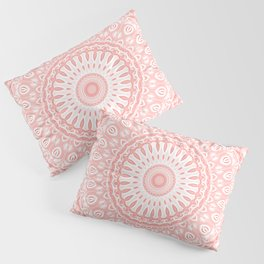 Living Coral Mandala Pillow Sham