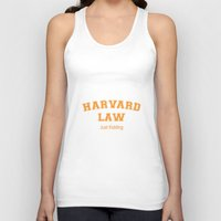 law Tank Tops featuring Law Student by Antaka Overdose
