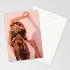 Elephant Woman Stationery Cards