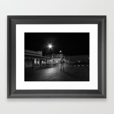 then just for a moment... I would materialise Framed Art Print
