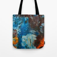 metal Tote Bags featuring Metal by yellowbunnies