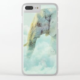 Top of the World Clear iPhone Case