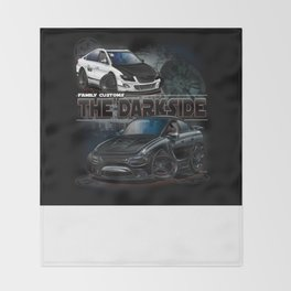 The Dark Side Throw Blanket