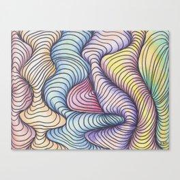 Wave Form Canvas Print