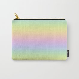 Pastel Rainbow Carry-All Pouch