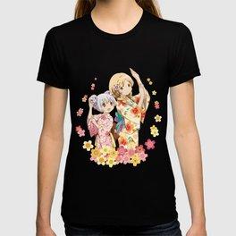 Mami Tomoe & Nagisa Momoe - Love Yukata edit. T-shirt