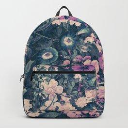 Floral Nights Space Dreams Backpack