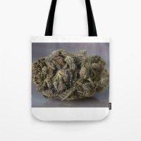 medical Tote Bags featuring Bordello Medicinal Medical Marijuana by BudProducts.us