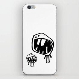 Teeth Monster Design II iPhone Skin