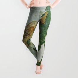 Green Bark Leggings