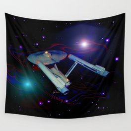 Enterprise NCC 1701 Wall Tapestry
