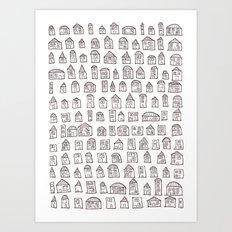SACRIFICIAL HOMES (A) Art Print