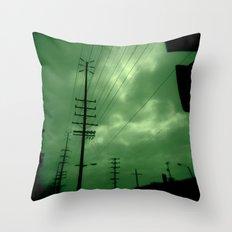 Urban Lines Throw Pillow