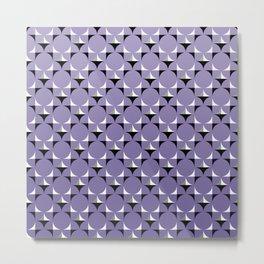 Mod Lt Purple Metal Print