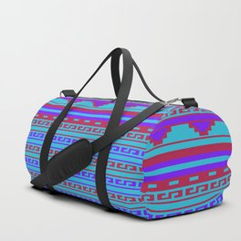 Mexican Aztec ethnic pattern Duffle Bag