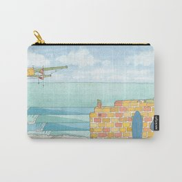Beach in my Backyard - watercolour print 2 Carry-All Pouch