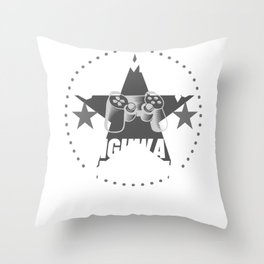 highway-engineer Gamer Gift Throw Pillow